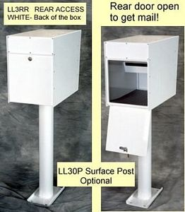 Secure In Wall Locking Mailboxes Free Standing Lockable